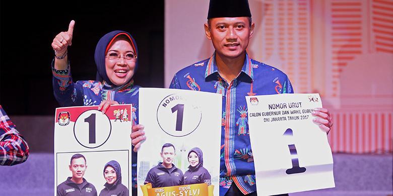 Agus Yudhoyono: Alhamdulillah Kami Dapat Nomor 1, Ini Nomor yang Baik
