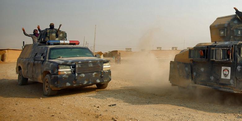 Pasukan Irak Rebut 40 Desa Dekat Mosul dari ISIS
