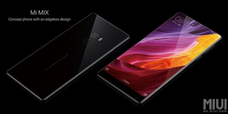 Lewat Mi Mix, Xiaomi Berhasil Salip IPhone 8?
