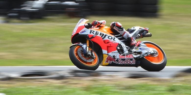 Marc Marquez Pimpin Sesi Pembuka GP Malaysia