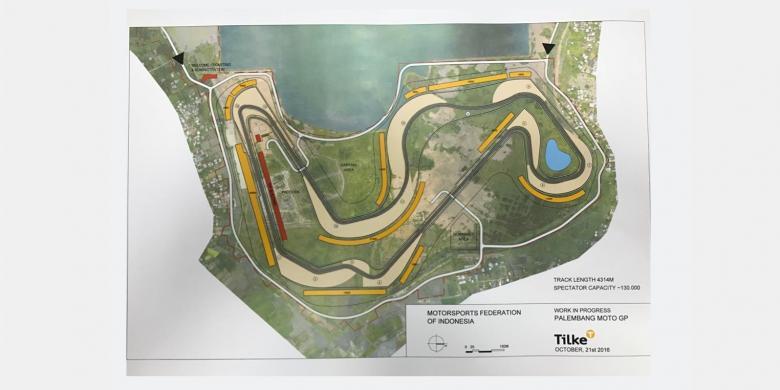 Insinyur Jerman Siap Rancang Sirkuit MotoGP Indonesia