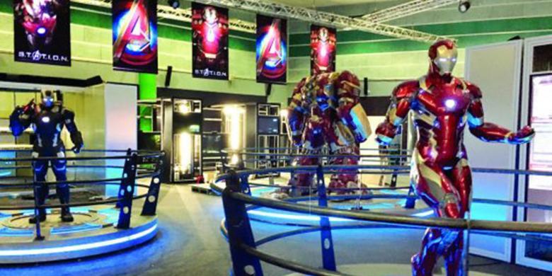 """""""Markas"""" Avengers Kini Hadir Di Singapura"""