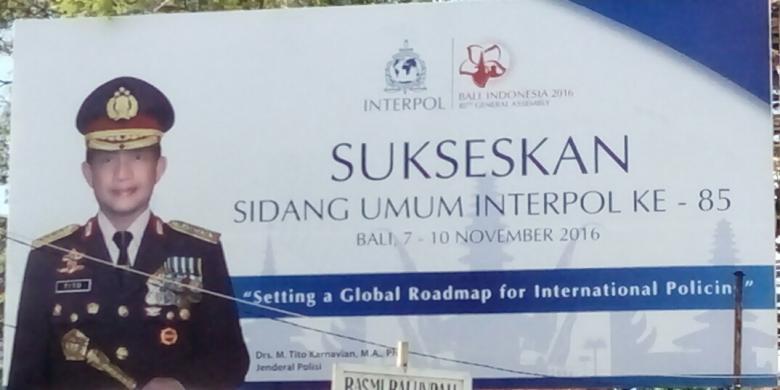 Sidang Umum Interpol Turut Promosikan Pariwisata Bali