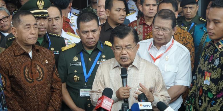 Kata Wapres soal Pembubaran Kebaktian di Bandung
