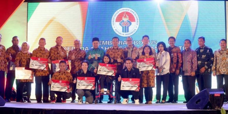 Peraih Medali Olimpiade Dan Paralimpiade Terima Bonus