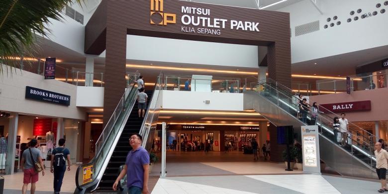 Mitsui Outlet Park, Sentra Belanja Murah Jenama Ternama Di Malaysia