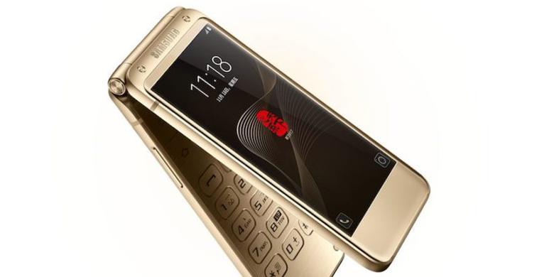 Samsung Rilis Android Layar Lipat W2017, Dijual Rp 38 Juta
