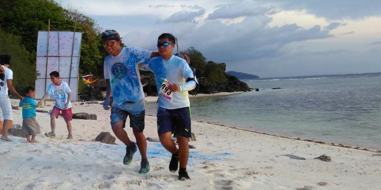 "Lari Keliling Gili Trawangan, Gubernur NTB Kenalkan ""Sport Tourism"""