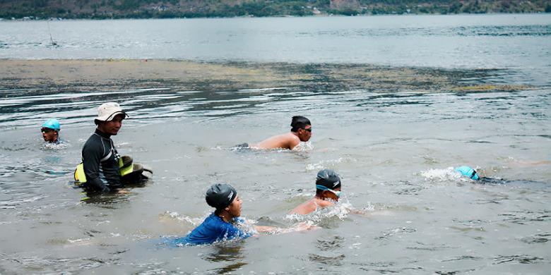 Asa Para Perenang Danau Laut Tawar Menjadi Atlet Nasional