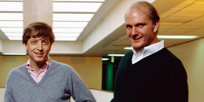 Kisah Retaknya Persahabatan Steve Ballmer Dan Bill Gates