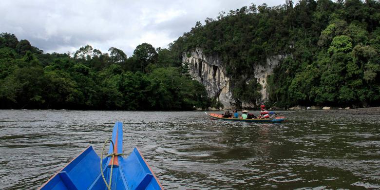 Tiong Ohang, Kala Alam Dan Budayanya Menyapa Dari Pedalaman