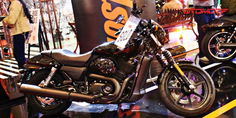 50 Peluru Harley Davidson Dalam Lima Tahun