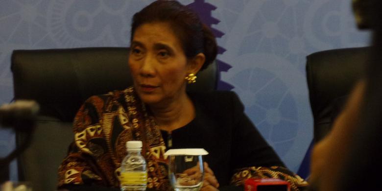"""Menteri Susi: Saya Beruntung Punya Presiden Yang Mendukung Penuh Pemberantasan """"Illegal Fishing"""""""