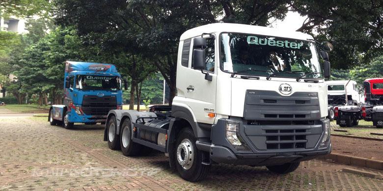 """Teknologi Canggih UD Trucks Buat """"Jaga"""" Pengemudi"""