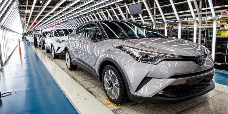 Toyota C-HR Sudah Sampai Thailand!