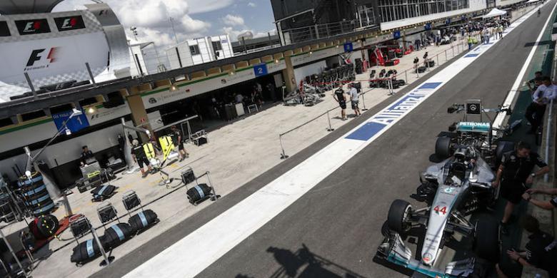Jadwal Formula 1 Brasil 2016