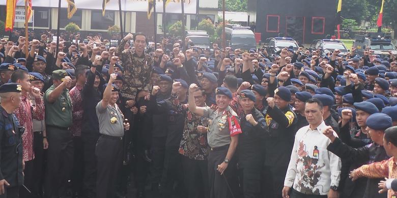 Jokowi Temui Satuan Di TNI-Polri, Ini Komentar JK