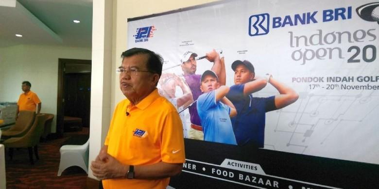 """Jusuf Kalla: Golf Salah Satu Pilar """"Sports Tourism"""" Di Tanah Air"""