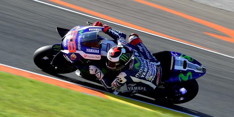 Balapan Terakhir Bersama Yamaha, Lorenzo Sempurna Di Valencia