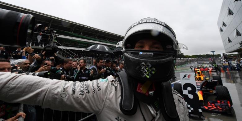 Hamilton Juara Di Brasil, Gelar Juara Dunia Masih Jadi Rebutan