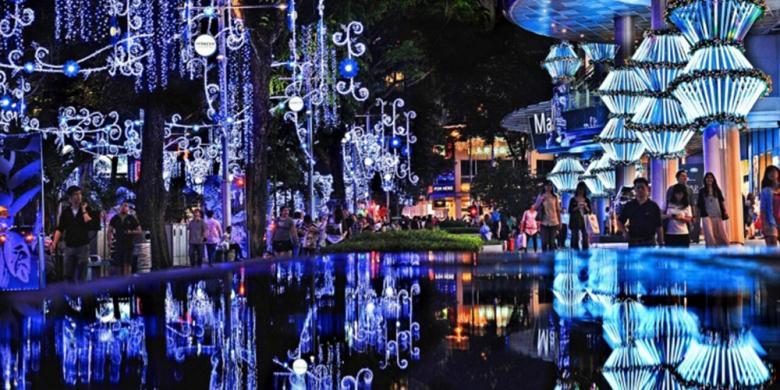 Orchard Road Mulai Bersolek Sambut Natal