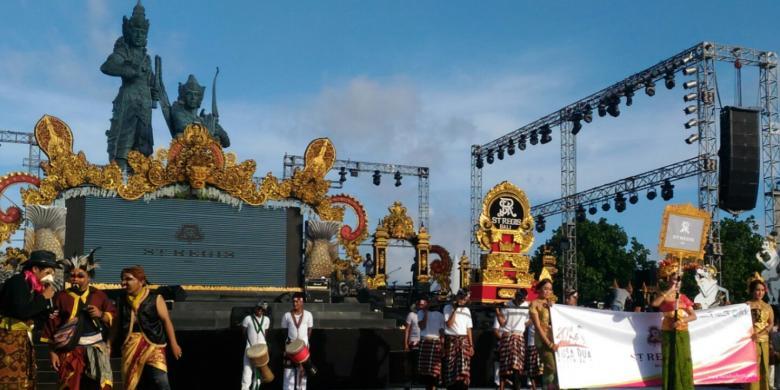 Pembukaan Nusa Dua Fiesta 2016 Berlangsung Meriah