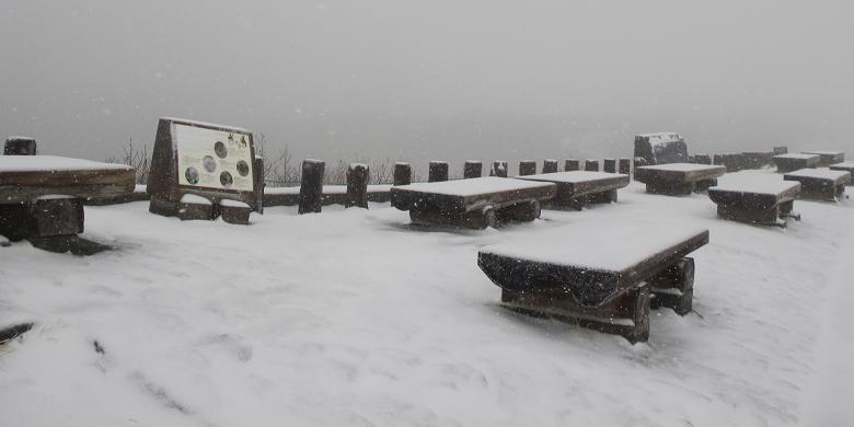 Salju Pertama Tahun Ini Di Murodo