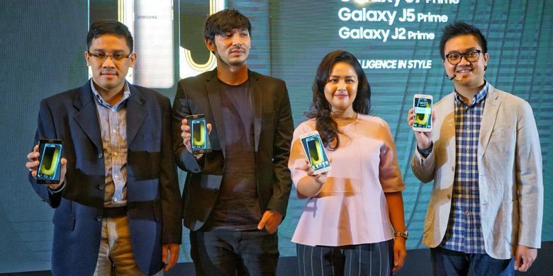 Samsung Luncurkan Trio Galaxy J2, J5, Dan J7 Prime Di Indonesia