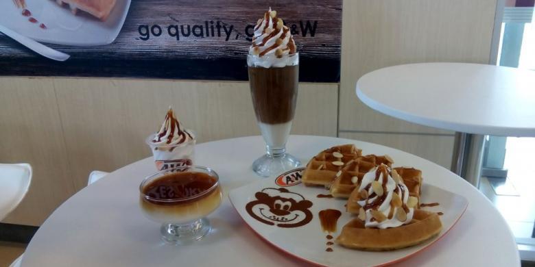 "Paduan Karamel Dan Almond, ""Dessert"" Terbaru Dari Restoran AdanW"