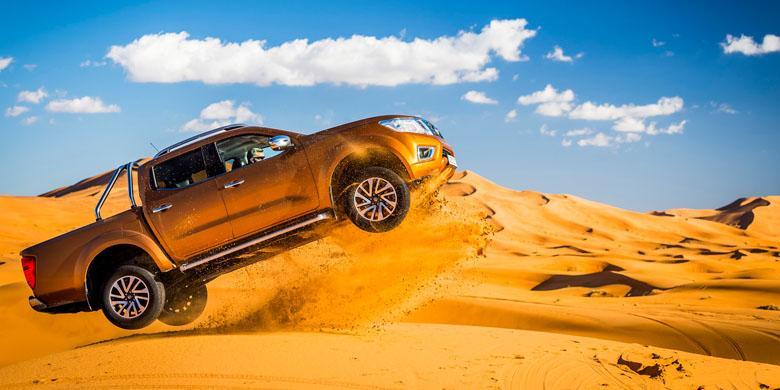 Nissan Navara Taklukkan Gurun Sahara