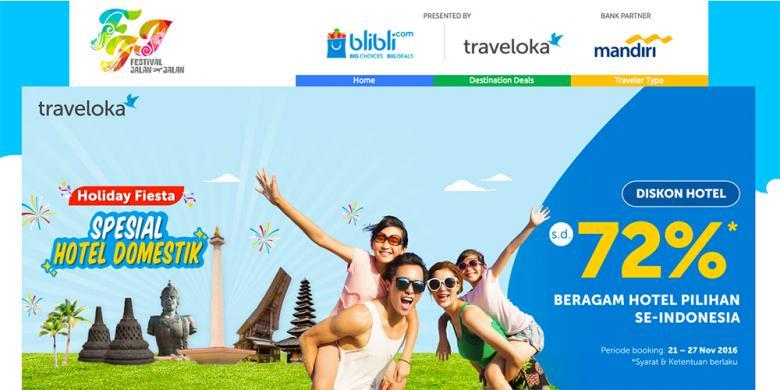 """""""Online Travel Fair"""" Pertama Di Indonesia Telah Dimulai!"""