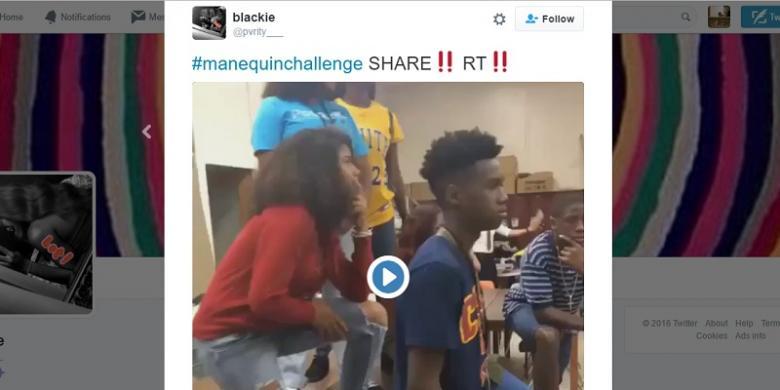 "Ini Asal-usul Video ""Mannequin Challenge"""