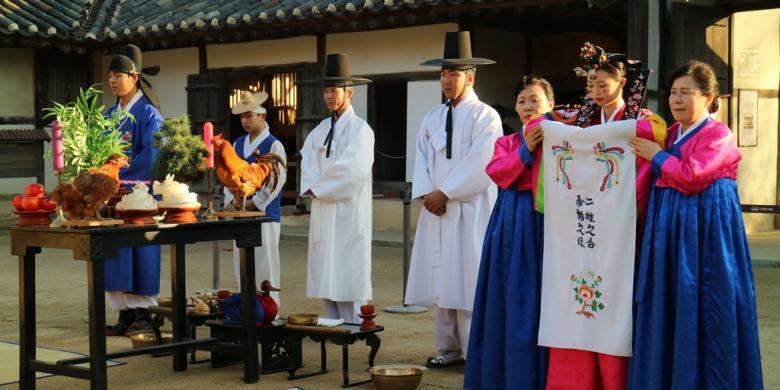 """Meluncur Ke Tempat """"Shooting"""" Drama Sejarah Korea"""
