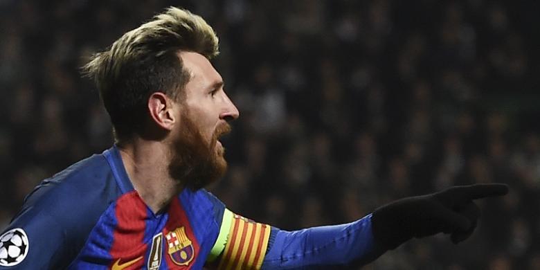 100 Gol Messi untuk Barcelona pada Ajang Internasional
