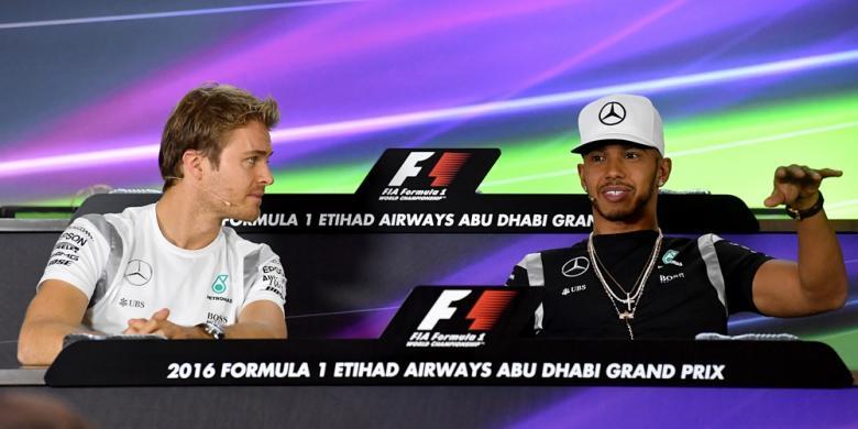 Reaksi Hamilton Atas Keputusan Rosberg Pensiun