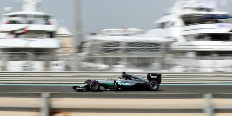 Hamilton Ungguli Rosberg Pada Latihan Pertama GP Abu Dhabi