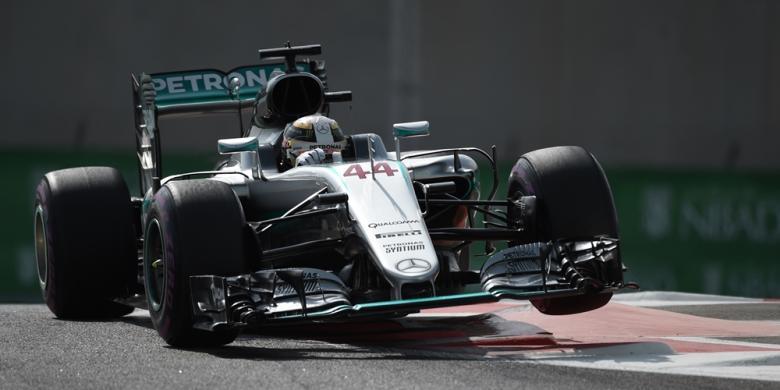 Hamilton Kembali Tercepat Pada Latihan Kedua GP Abu Dhabi