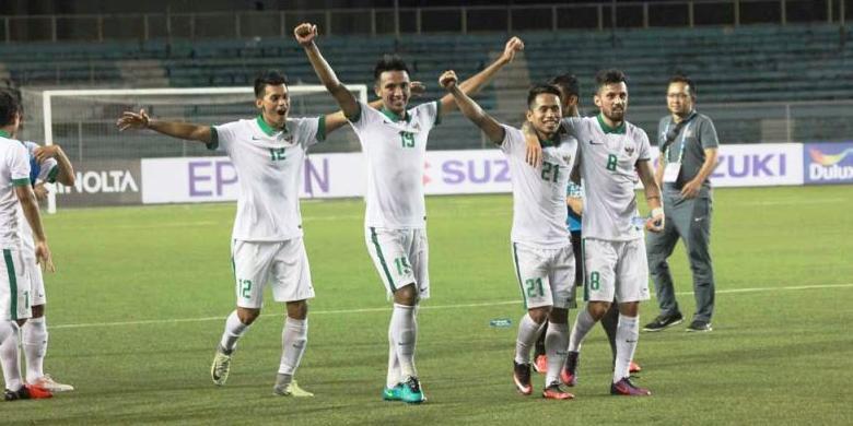 Hasil gambar untuk Timnas Indonesia lolos semi final
