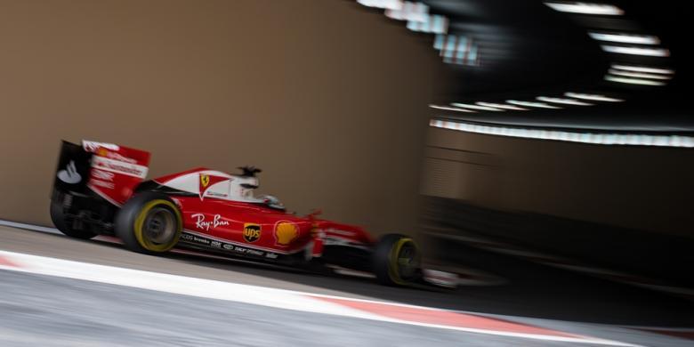 Vettel Sisihkan Hamilton Dan Rosberg Pada Latihan Ketiga GP Abu Dhabi