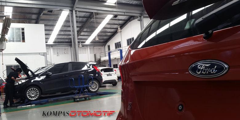 Libur Akhir Tahun, Bengkel Ford Tetap Buka