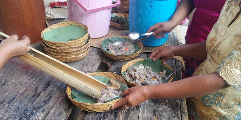 Di Tana Toraja, Batang Pohon Pisang Pun Jadi Menu Santapan Lezat
