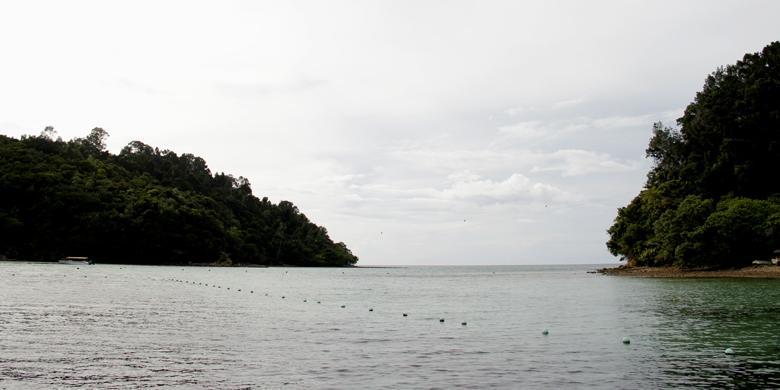 """Jangan Telat Saat Ingin Coba """"Flying Fox"""" Di Pulau Gaya Sabah!"""