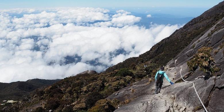 Ini Perbedaan Jalur Pendakian Gunung Kinabalu Pasca-gempa 2015