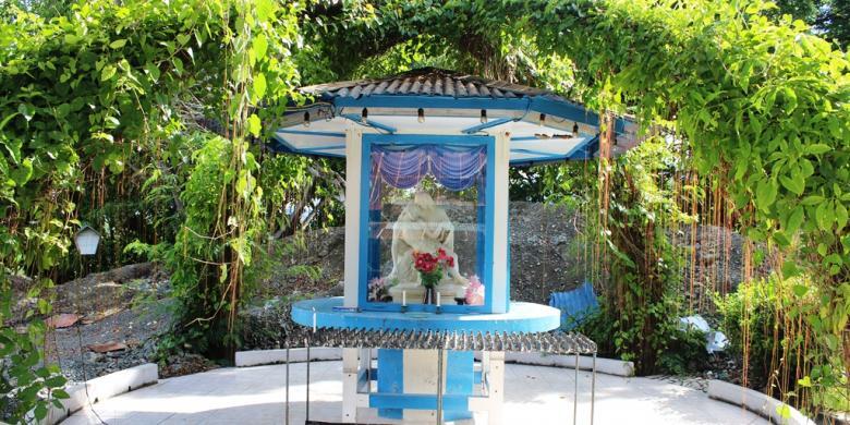 Satu-satunya Di Indonesia, Patung Bunda Maria Dari Vatikan