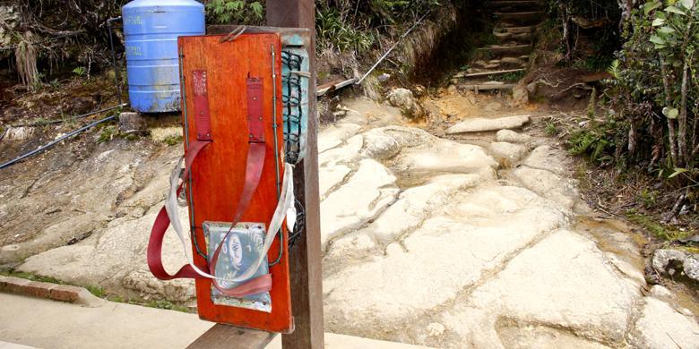 """Salabit"", Tas Unik Porter Di Gunung Kinabalu"