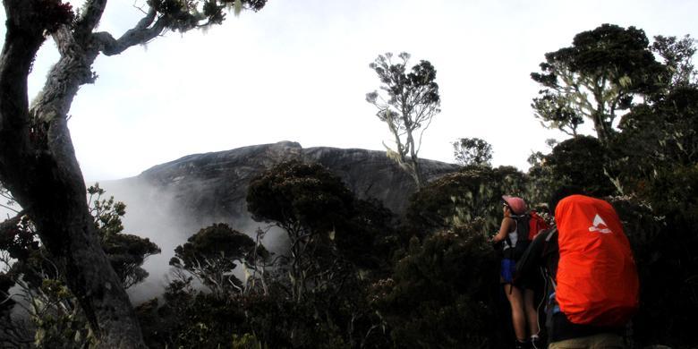 Keren, Bisa Internetan Di Puncak Gunung Kinabalu