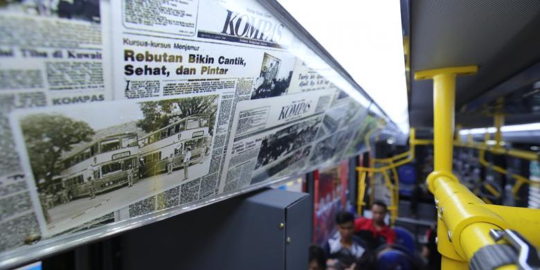 """Naik Bus """"Vintage Series"""" Transjakarta, Yuk Mampir 7 Obyek Wisata Ini"""