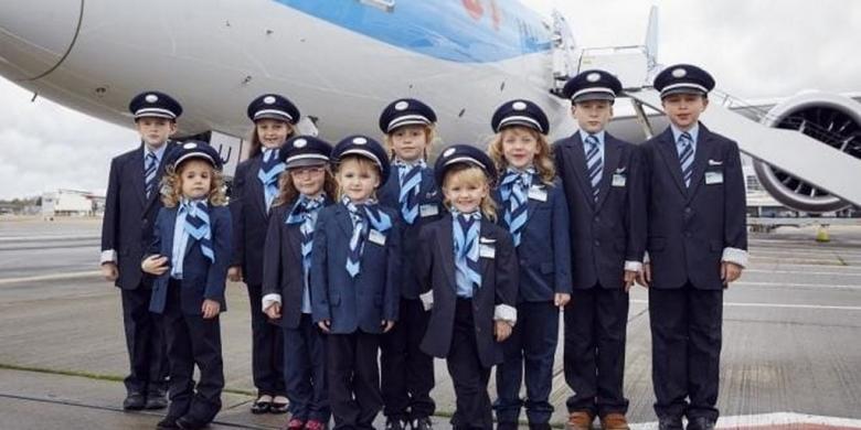 Area Bermain Untuk Anak-anak Di Atas Pesawat?