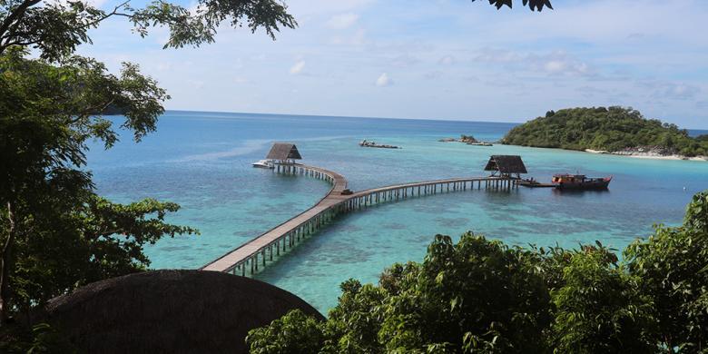 """Mengintip Pembangunan """"Eco Resort"""" Di Pulau Bawah"""
