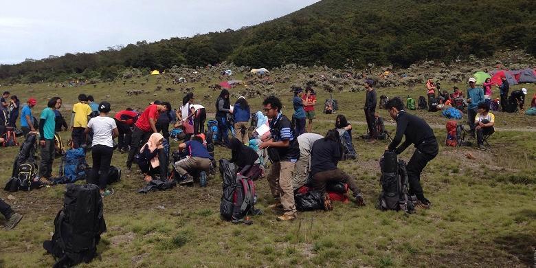 Pendakian Gunung Gede Dan Pangrango Ditutup Mulai 31 Desember 2016